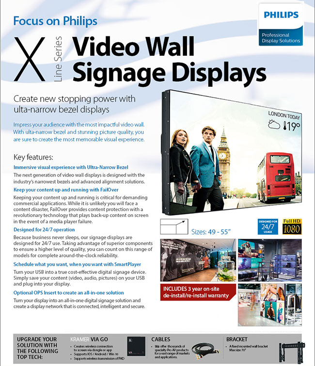 Philips Digital Signage