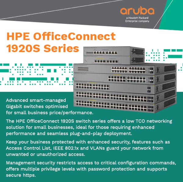 HP Aruba networking solutions