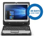 """FULLY RUGGED 12"""" TOUGHBOOK 33 MK1 2-IN-1 WIN 10 Notebook"""