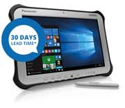 """FULLY RUGGED 10.1"""" TOUGHBOOK G1 Mk5 Win 10 Tablet PC"""