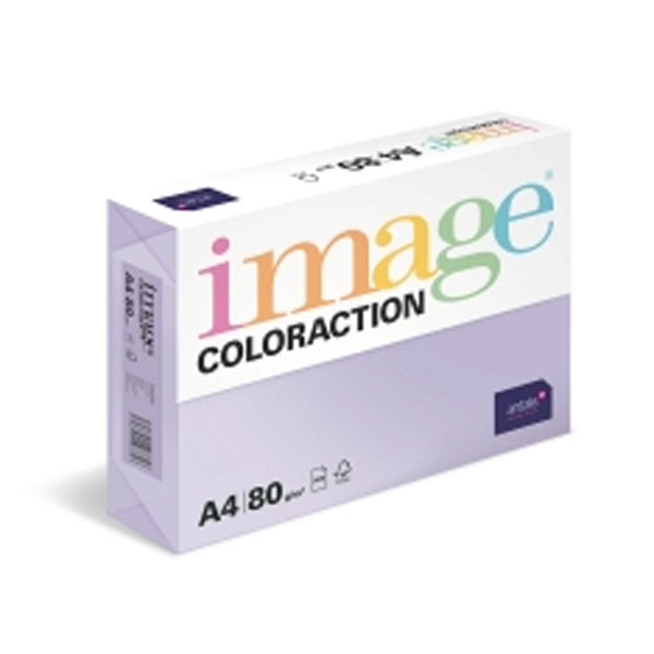 Image Coloraction Pale Pink (Tropic) Fsc4 A4 210x297mm 80gm2 Pack 500