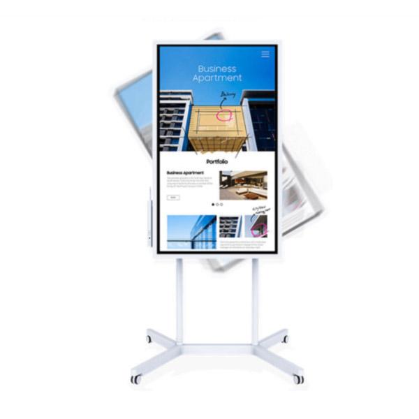 Samsung WM55H (55 inch) Interactive Digital Flipchart 4700:1 3840x2160 8ms HDMI (White)