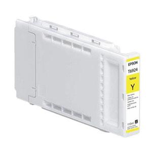 Ink Cartridges Epson T692400 UltraChrome XD Yellow Ink Cartridge (110ml) for SureColor SC-T3000/SC-T5000/SC-T7000 Large Format Inkjet Printers